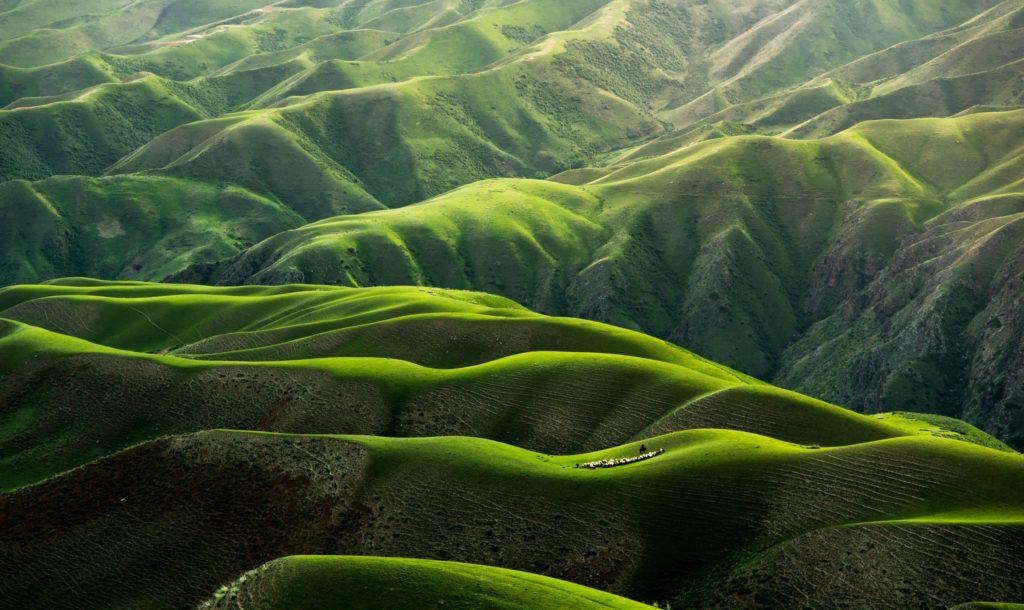 Nature et collines verdoyantes - Pranaloé boutique de cosmétiques bio en ligne et blog beauté bio