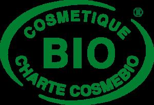 Logo label cosmétique bio Cosmébio - pranaloé