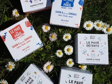 les différents modèles de savon à froid bio d'Atelier populaire Cosmétique bio Paris