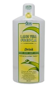 aloe vera à boire pur jus - aloe vera fresca - pranaloe - eshop cosmétiques bio