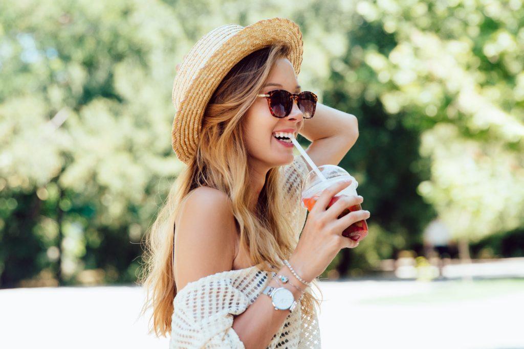 jus d'aloe vera à boire avant ou après les repas - pranaloé - blog beauté bio - préparer sa peau au soleil