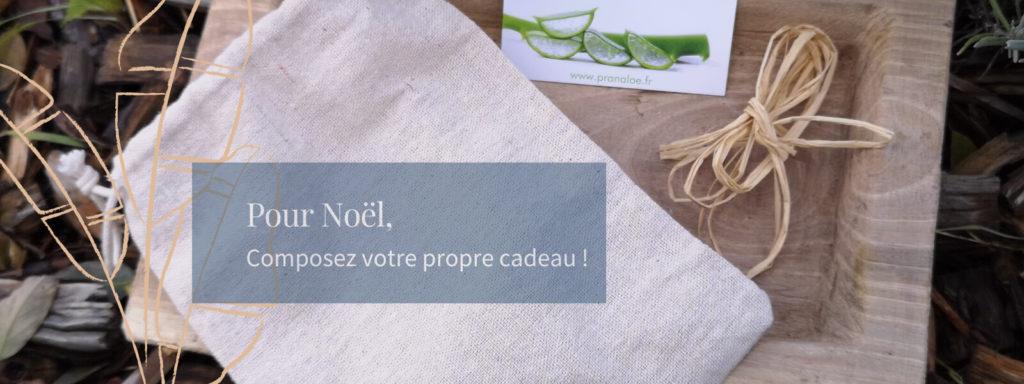 cadeau de noel personnalisé femme -  pranaloé boutique de cosmétiques bio en ligne