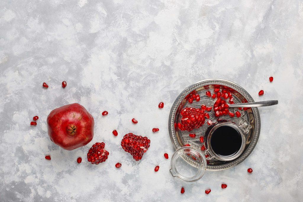 grains du fruit du grenadier  - pranaloé boutique en ligne de cosmétiques bio et blog beauté bio