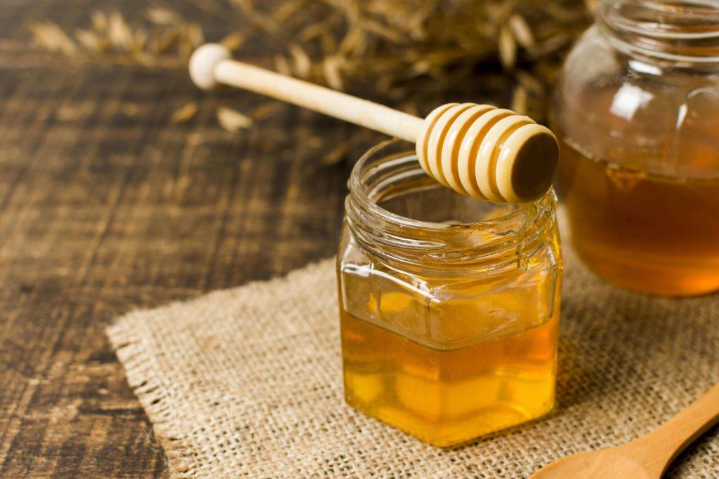 le miel cicatrise naturellement