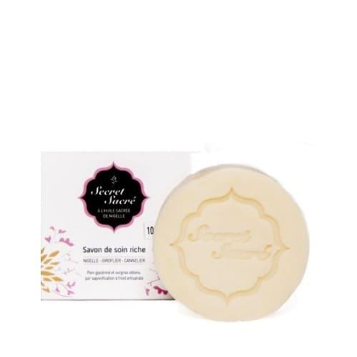 savon à l'huile de nigelle bio saponifié à froid - Pranaloé - boutique en ligne de cosmétiques bio