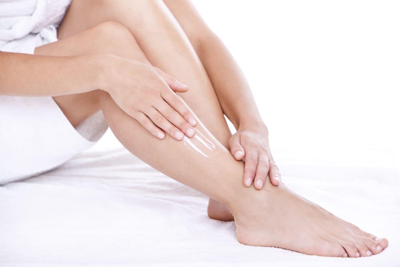 nourrir la peau des jambes - pranaloé - cosmétiques bio en ligne